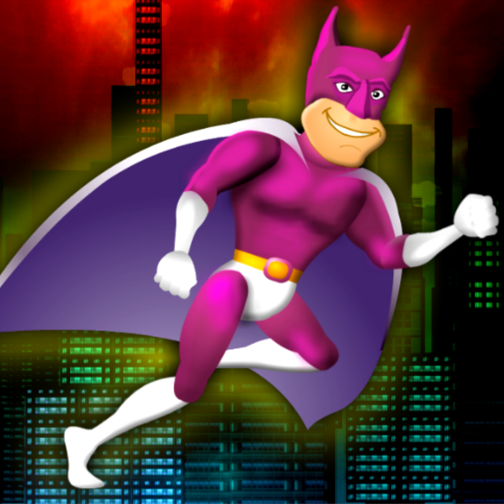 Fast Running Super Hero - Endless Runner